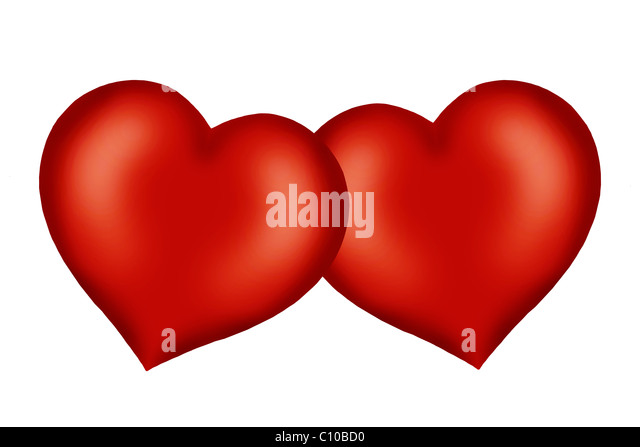 Two Entwined Hearts Stock Photos & Two Entwined Hearts ...