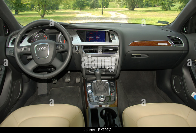 Audi Dashboard Stock Photos  Audi Dashboard Stock Images  Alamy