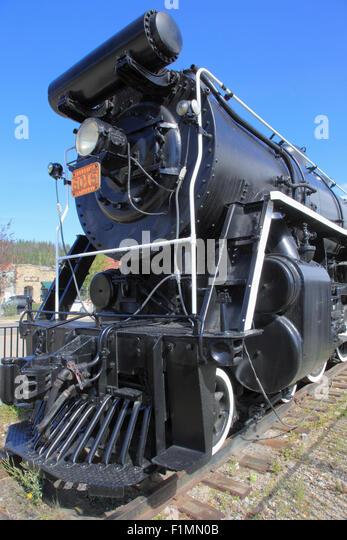 Steam Locomotive America Stock Photos Steam Locomotive