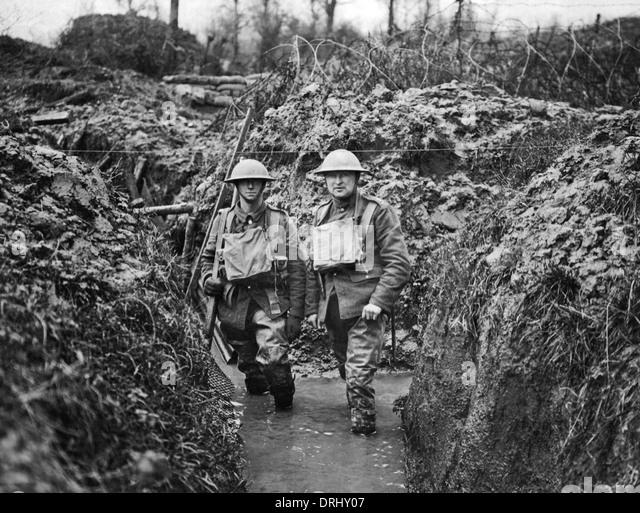 the effects of trench warfare on the western front during world war i Trench warfare during wwi: definition, facts & conditions  the first (or front)  row of trenches was guarded with barbed wire and was known.