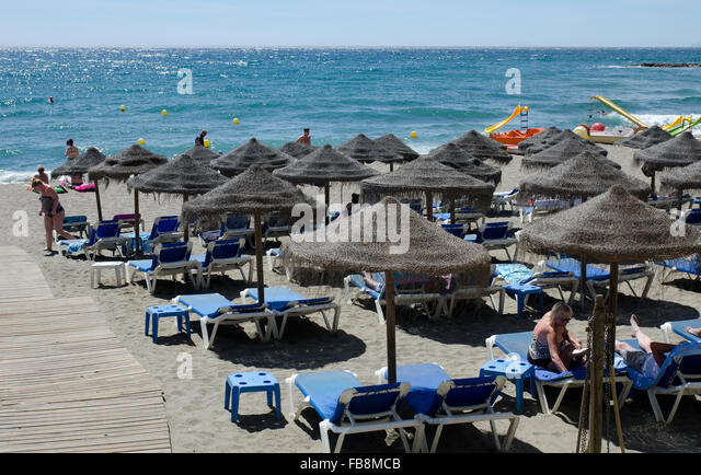 Beach In Marbella Stock Photos & Beach In Marbella Stock Images - Alamy