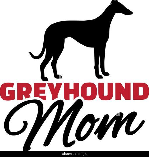 Greyhound  Design  Dog logo design Dog branding Dog logo