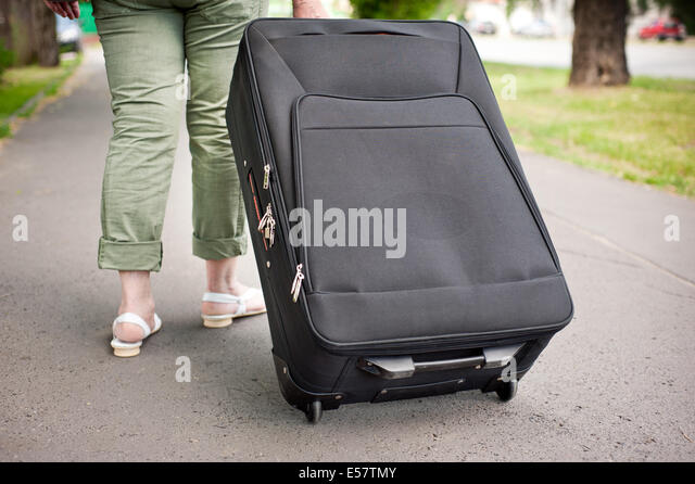 Luggage On Wheels Stock Photos & Luggage On Wheels Stock Images ...