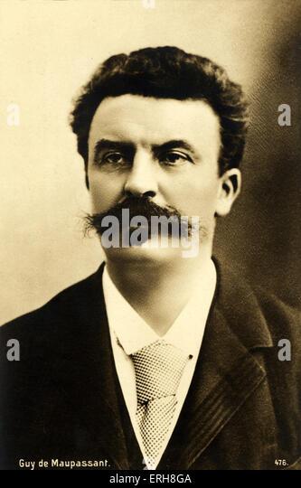 a biography of guy de maupassant a writer Maupassant (french mopɑsɑ̃) n (biography) (henri rené albert) guy de (ɡi də) 1850–93, french writer, noted esp for his short stories, such as boule de suif (1880), la.