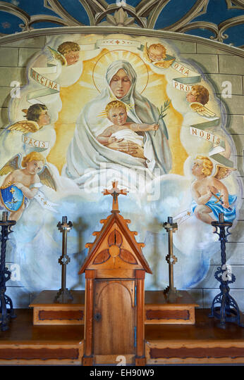 Christian mural uk stock photos christian mural uk stock for Christian mural