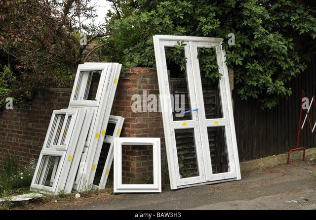 Upvc door stock photos upvc door stock images alamy for Ready made upvc doors