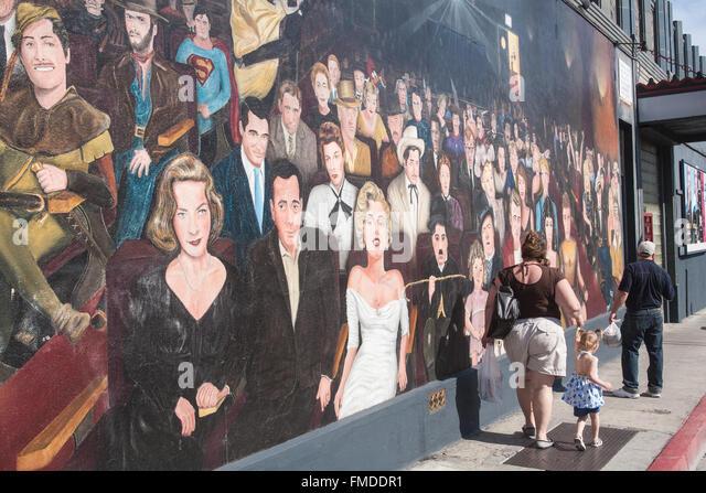 mural hollywood stars california stock photos amp mural mural hollywood stars california stock photos amp mural