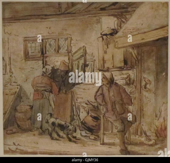 Interior of a dutch house hooch