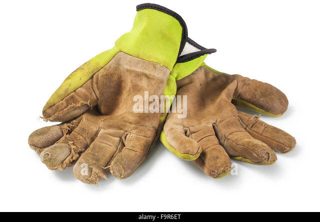 Dirty Gardening Glove Stock Photos Dirty Gardening Glove Stock