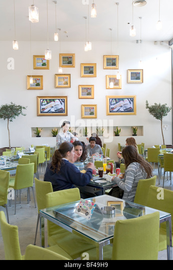 Mondo Cafe In The Trendy Restaurant Complex At Arch Makarios Avenue Nicosia