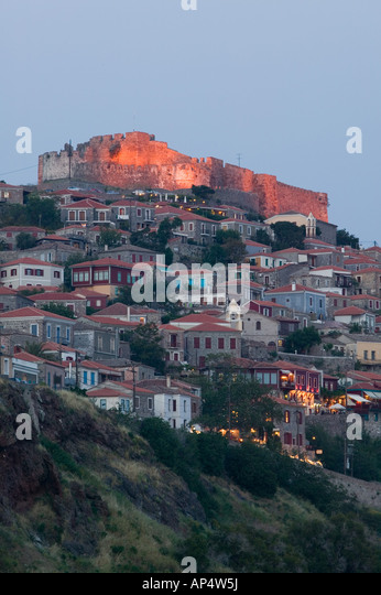 City Of Molyvos Stock Photos & City Of Molyvos Stock ...
