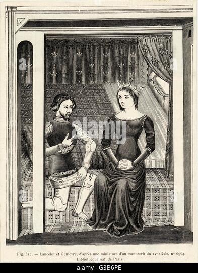 King arthur guinevere and sir lancelot