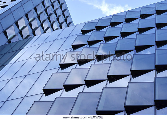 Office Building Glass Facade Cladding Stock Photos Office