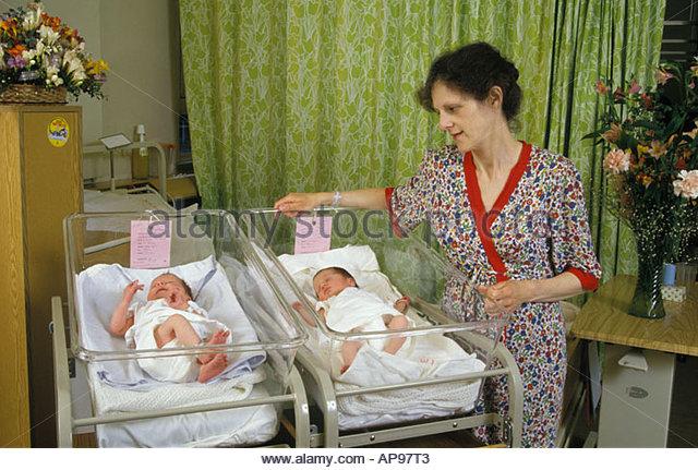 Image Gallery newborn twins in hospital