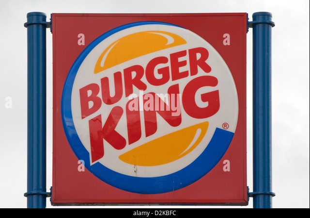 burger king logo stock photos burger king logo stock images alamy. Black Bedroom Furniture Sets. Home Design Ideas