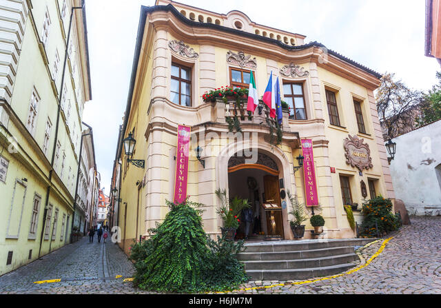 Mala strana prague stock photos mala strana prague for Hotel mala strana prague