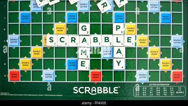 Scrabble poker card game