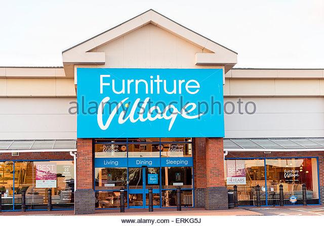Village store uk stock photos village store uk stock for F furniture village