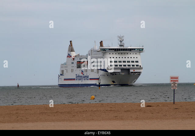 brittany ferries stock photos brittany ferries stock images alamy. Black Bedroom Furniture Sets. Home Design Ideas