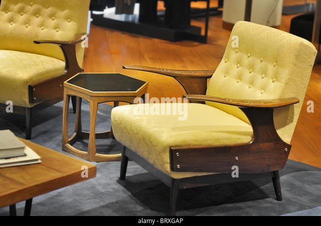 Photo Of 1950u0027s Furniture Armchair Decor   Stock Image