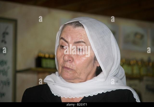 Pekiin Israel  city images : Israel Upper Galilee The Druze village of Peki'in Sabta Gamila grandma ...