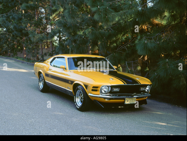 70s mustang stock photos & 70s mustang stock images - alamy