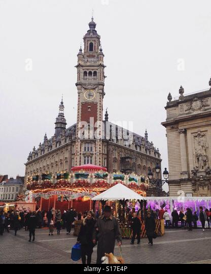 Vieux lille stock photos vieux lille stock images alamy for Chamber of commerce france