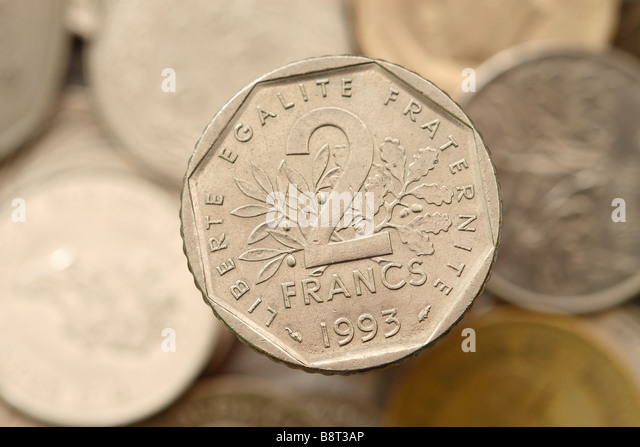 french franc f coin used in france before the of the single currency with palette europe le bon coin. Black Bedroom Furniture Sets. Home Design Ideas