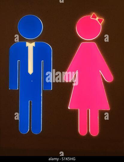 Bathroom Signs Holding Hands woman bathroom door stock photos & woman bathroom door stock
