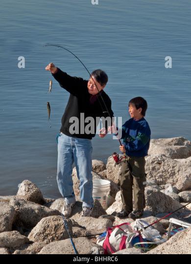 Tilapia and fishing stock photos tilapia and fishing for Salton sea fishing