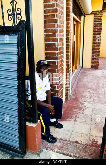 The gate keeper at the rum factory in Belize City - Stock Image & Gate Keeper Stock Photos \u0026 Gate Keeper Stock Images - Alamy Pezcame.Com