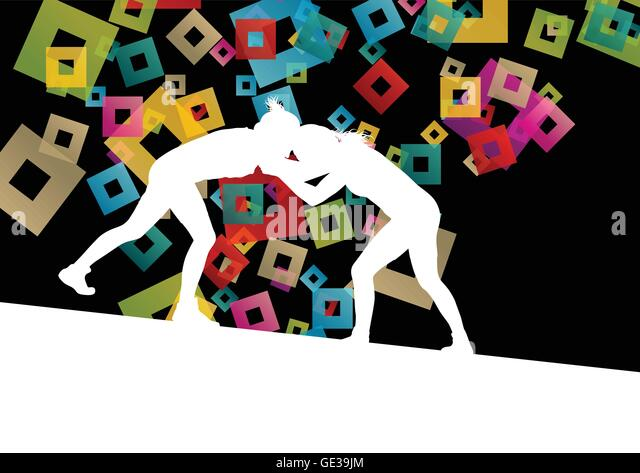 Active Young Women Volleyball Player Sport Stock Vector: Roman Mosaic Gladiator Stock Photos & Roman Mosaic