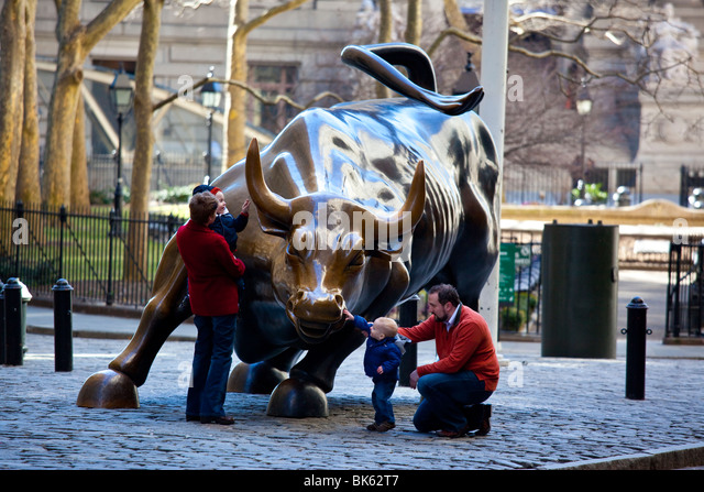 Wall Street Bull Art wall street bull manhattan stock photos & wall street bull