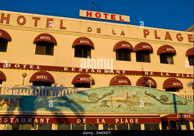 Hotel de la plage stock photos hotel de la plage stock for Hotels grau du roi