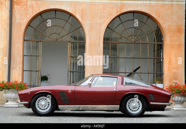 1957 iso grifo stock image