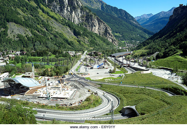 mont blanc tunnel stock photos mont blanc tunnel stock images alamy