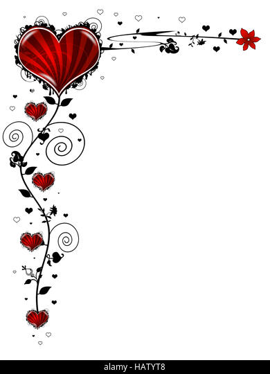 Großartig Valentinskarte Rot   Stock Image