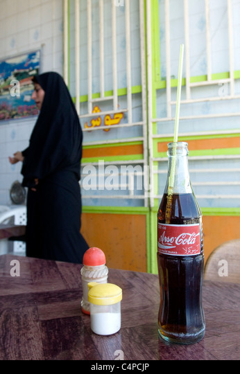 Woman And Coke Bottle Stock Photos Amp Woman And Coke Bottle
