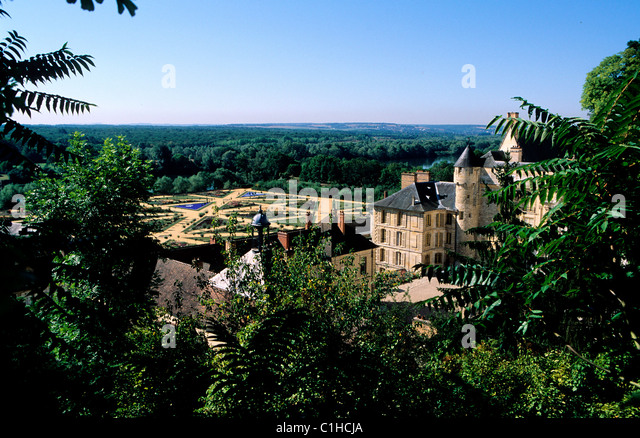 French vexin regional natural park stock photos french for Beaux villages yvelines