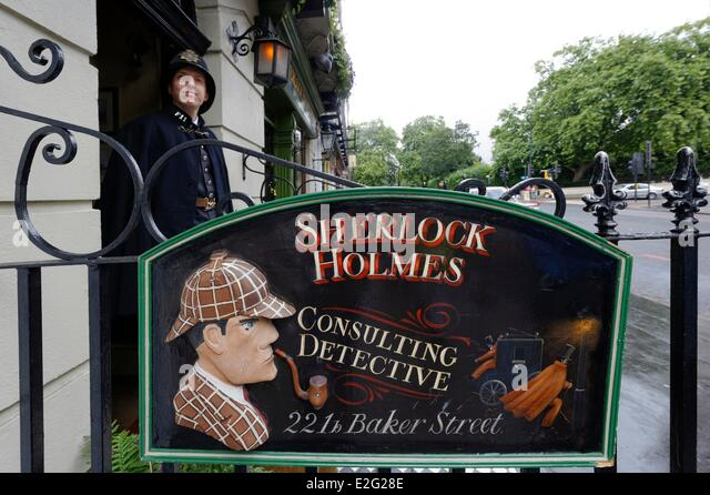 Henfield United Kingdom  city photo : United Kingdom London Marylebone 221b Baker Street where Conan Doyle ...