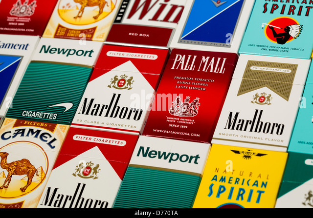 Buy cigarettes Salem Spain