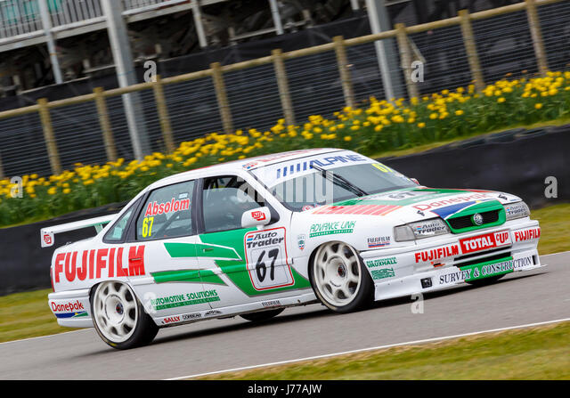 Superb Tony Absolomu0027s 1993 Vauxhall Cavalier GSI Super Touring Car With Driver On  A Demonstration Run At Photo