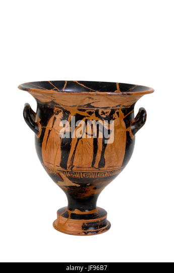 Ancient Greek Vase Cut Out Stock Images Pictures Alamy