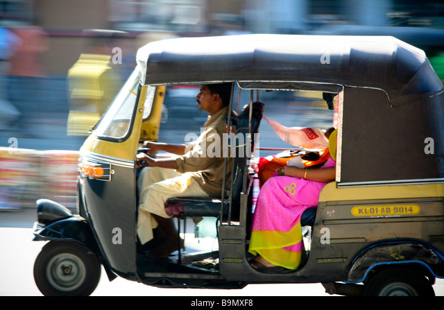 Auto Rickshaw Kerala Stock Photos & Auto Rickshaw Kerala