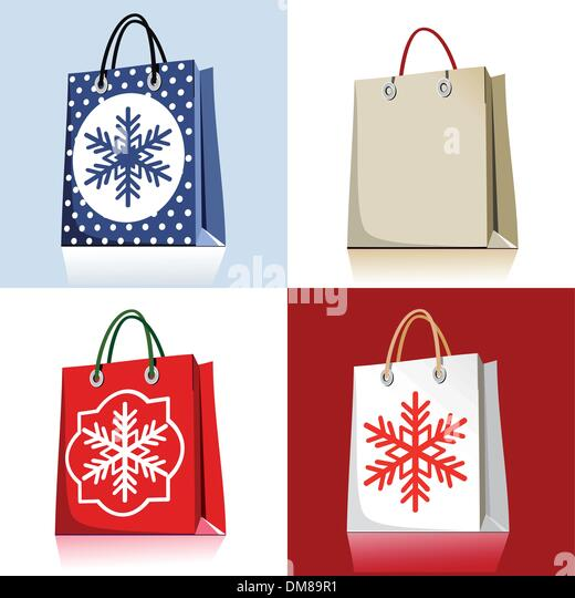 Christmas Shopping Bags Stock Photos & Christmas Shopping Bags ...