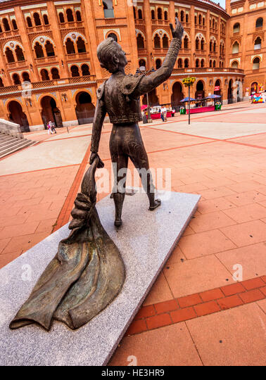 Bullfight In Las Ventas Bullring Stock Photos & Bullfight In Las Ventas B...