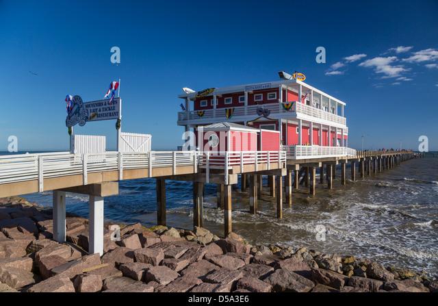 Galveston texas pier stock photos galveston texas pier for Galveston pier fishing