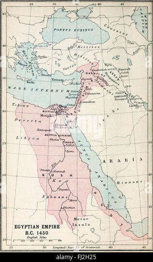 Bc Stock Photos Bc Stock Images Alamy - Map of egypt in 1450 bc