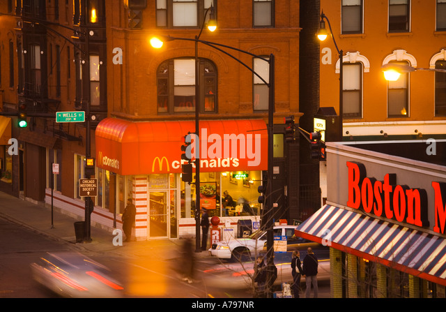Busy City Corner Stock Photos Busy City Corner Stock Images Alamy