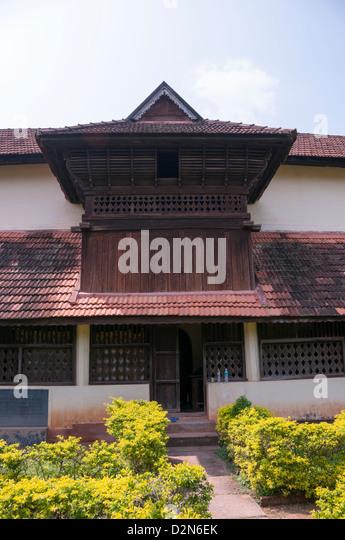 Traditional Kerala Roof Stock Photos & Traditional Kerala